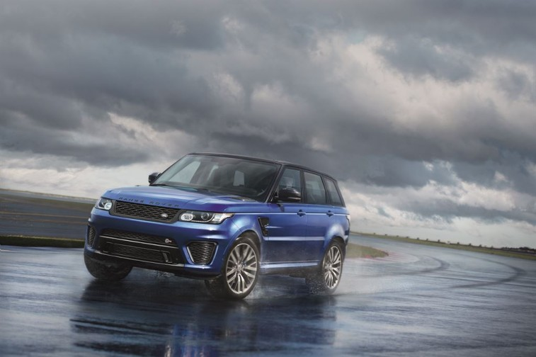 The Land Rover SVR