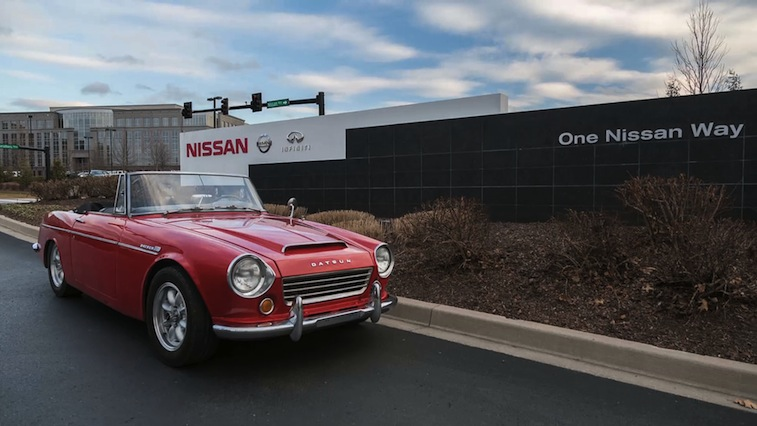 Vintage Datsun Fairlady Roadster Travels More Than 30,000 Miles