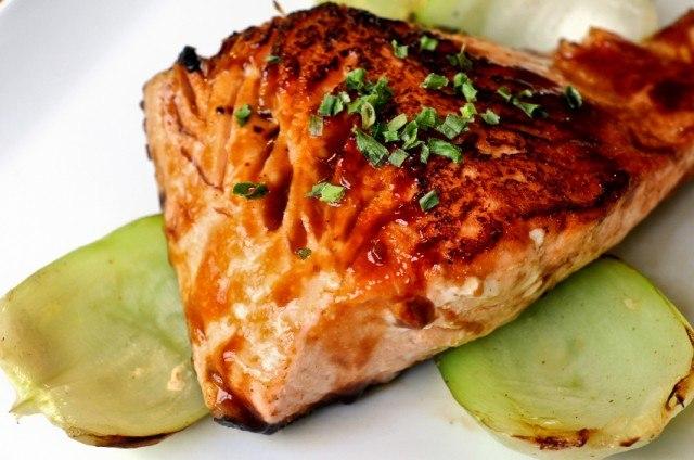 Soy Glazed Salmon