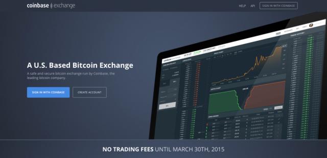 Coinbase Exchange