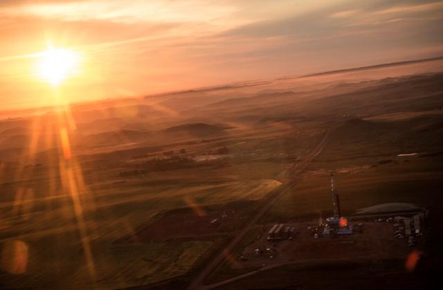 North Dakota from the air