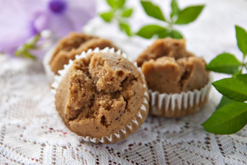 Steamed banana muffin