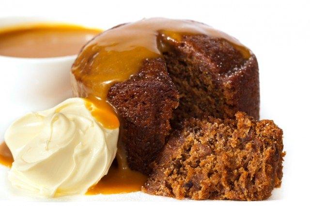 Sticky Date Pudding, Cake, Caramel