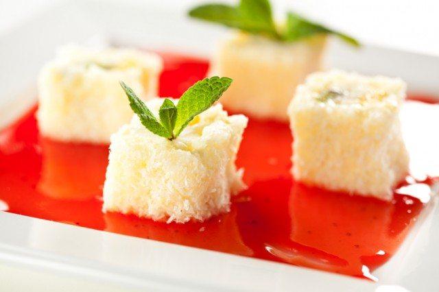 Sweet Fruit Sushi Roll, mint