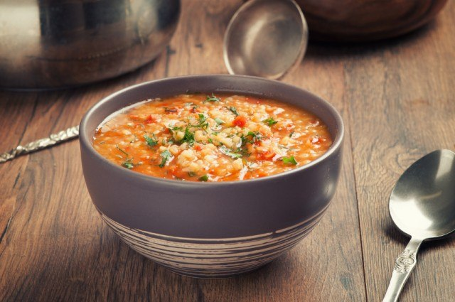 Vegetable Lentil Stew, soup