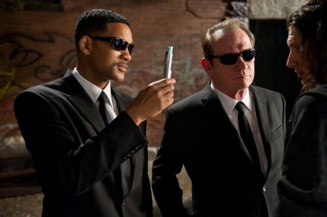 Will Smith and Tommy Lee Jones in Men in Black.   Source: Sony Pictures