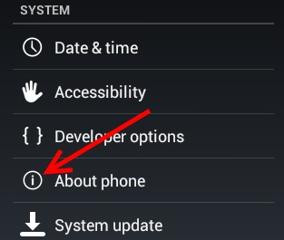 about phone icon