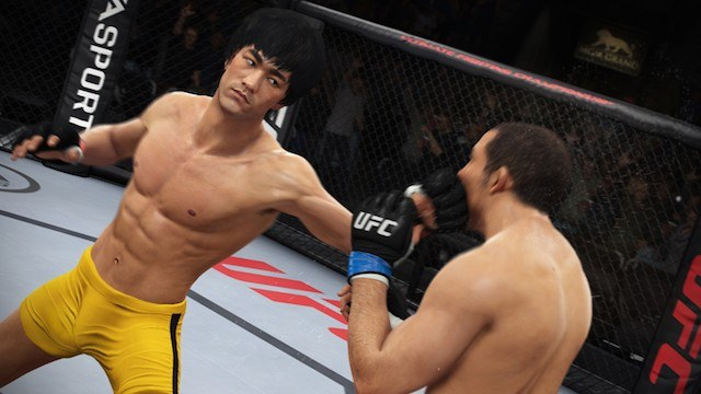 Bruce Lee in 'EA Sports UFC'