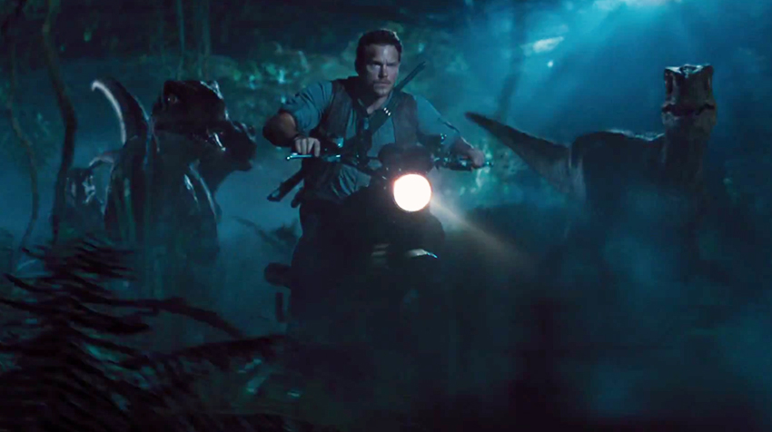 Chris Pratt in Jurassic World | Universal Pictures