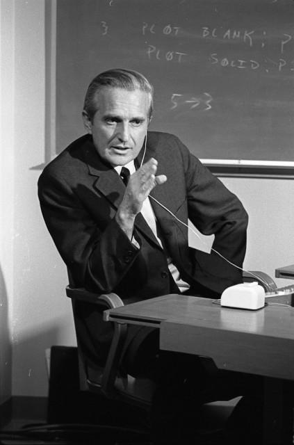 Douglas Engelbart at SRI