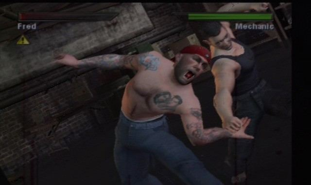 Fred Durst in the video game 'Fight Club'