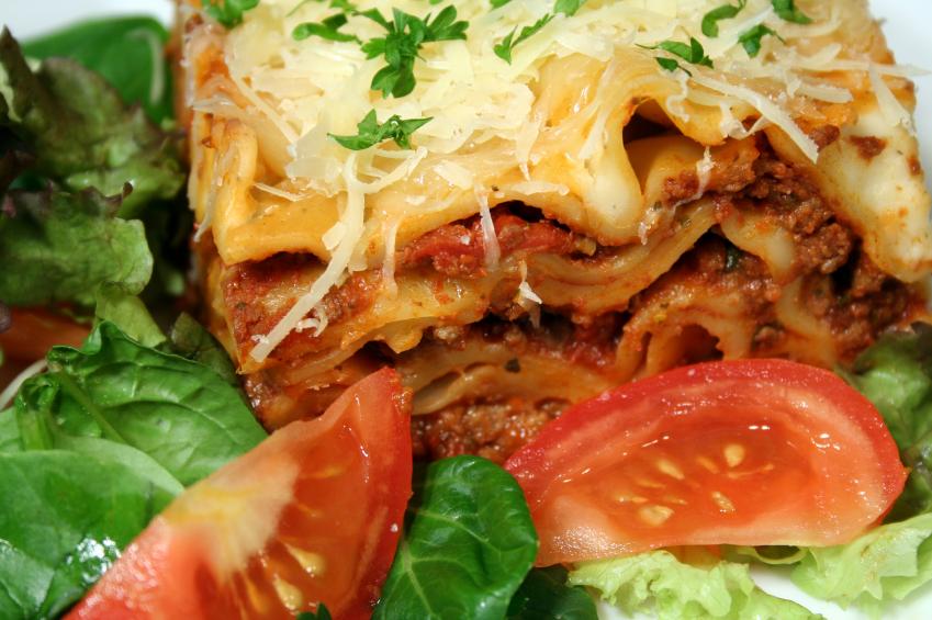 Lasagna Salad, Pasta, Tomatoes