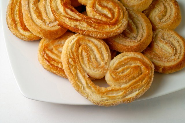 French palmiers cookies