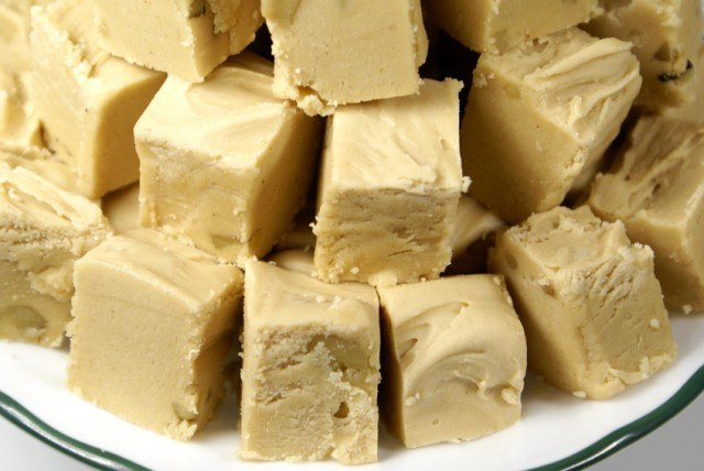 Peanut Butter Vanilla Fudge