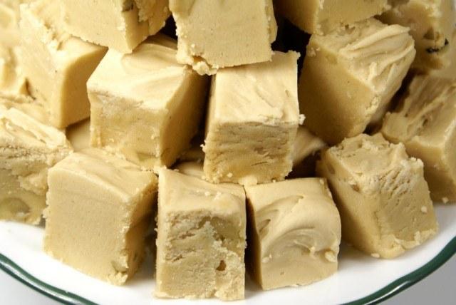 Peanut Butter Vanilla Fudge