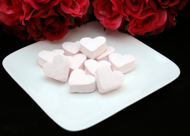 Pink Candy Hearts, Marshmallows