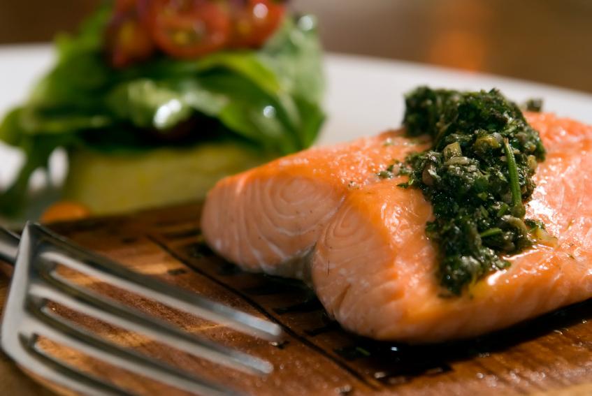 glazed salmon