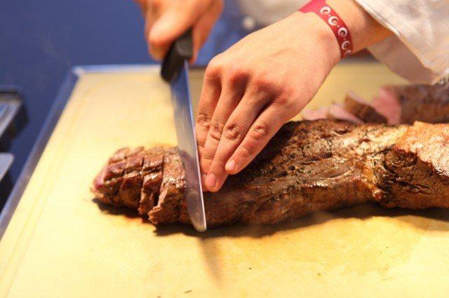 Slicing, Cutting, Steak