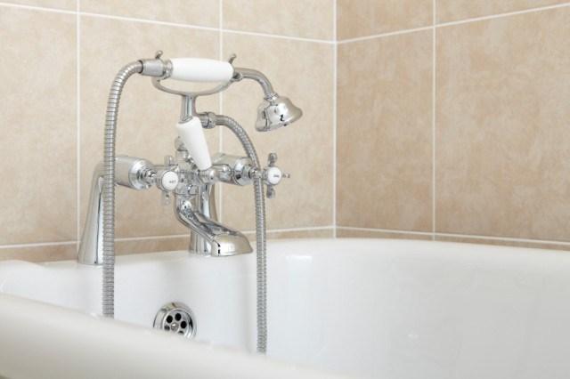 Bathroom, Bathtub Faucet