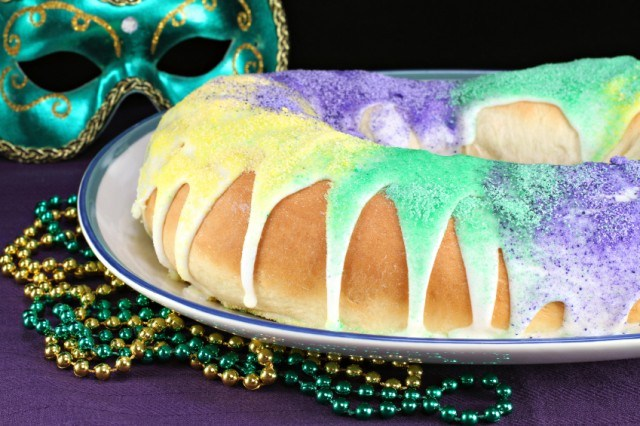 Kings Cake for Mardi Gras