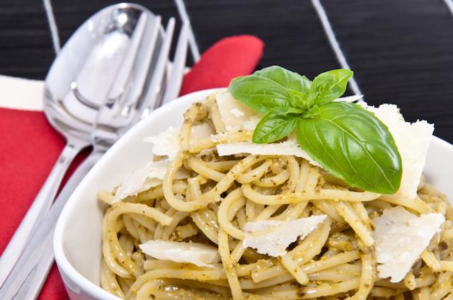 Spaghetti Pasta, Parmesan