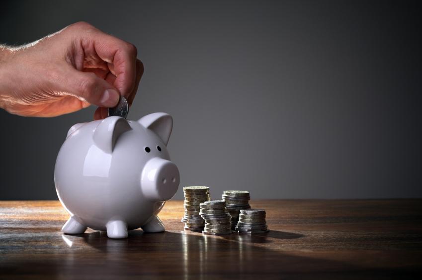 Savings, piggy bank