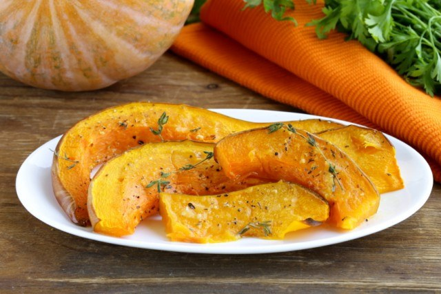 Roasted Pumpkin Squash