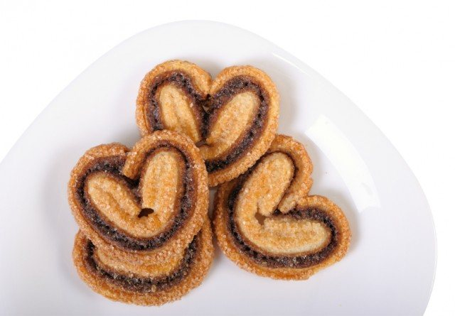 Chocolate Palmier puff pastry