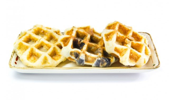 Blueberry Belgian Waffles