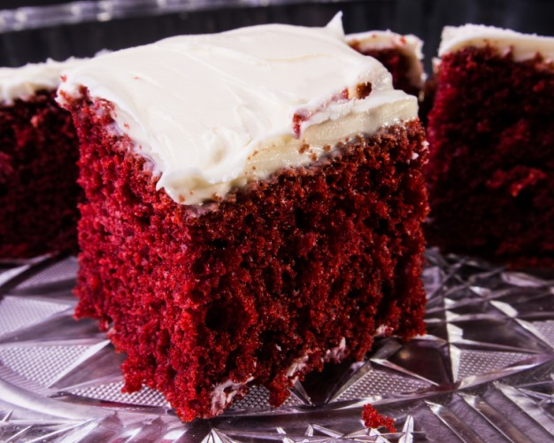 Red Velvet Cake, Cream Cheese Frosting