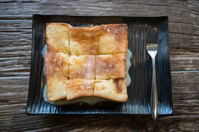 French Toast bread, milk glaze