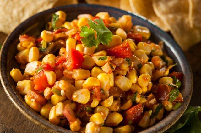 Corn Salsa, tomato