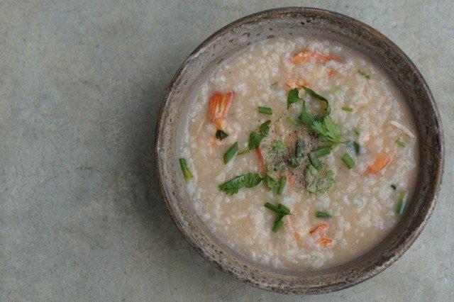 Shrimp Rice Soup, Stew
