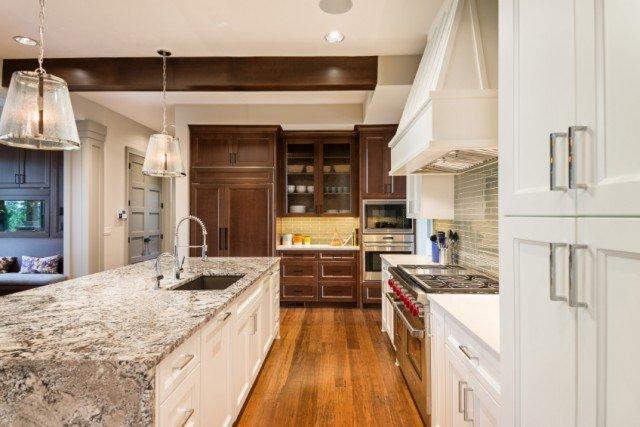 Kitchen, Luxury Home