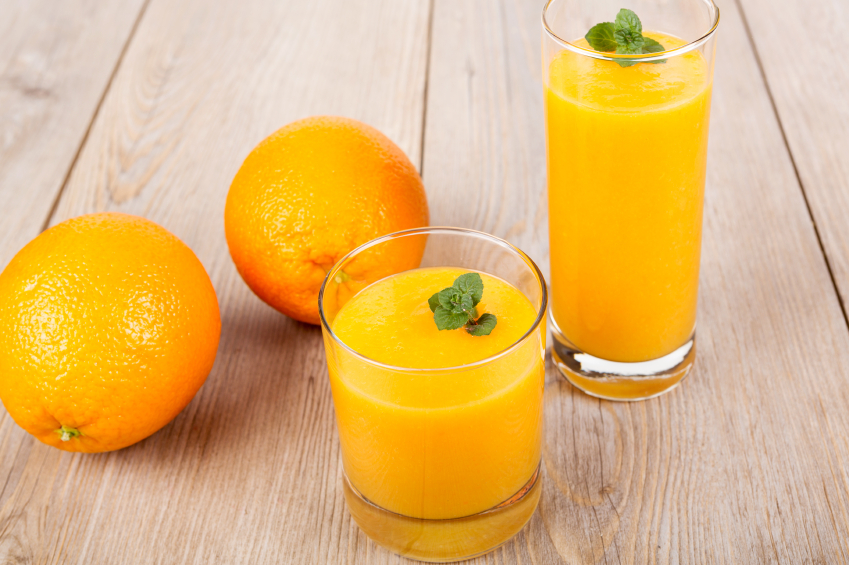 clementine smoothie drink