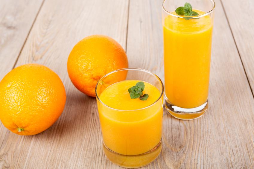 clementine smoothie drink