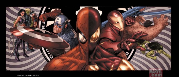 Spider-Man Marvel Civil War