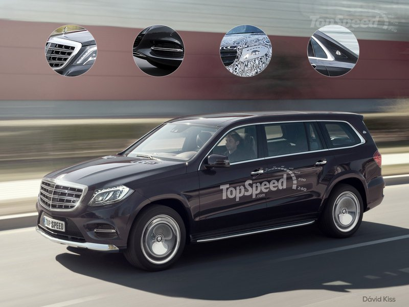 Maybach Mercedes S First Suv Might Very Well Look Like This