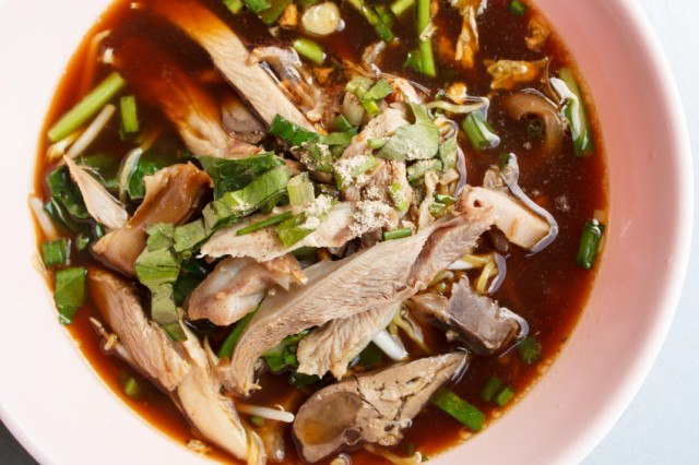 soup with chicken and vegetables