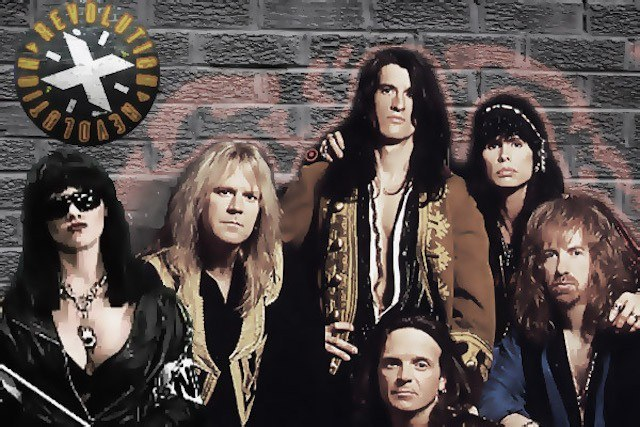 Aerosmith in 'Revolution X'