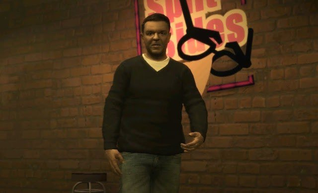 Ricky Gervais in 'Grand Theft Auto IV'