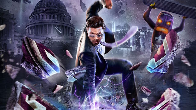 Cover art for Saints Row 4