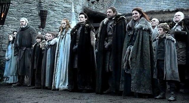 Stark Family, Game of Thrones - HBO
