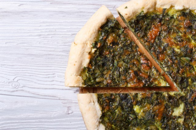 Pie, Spinach, Pastry, Spanakopita