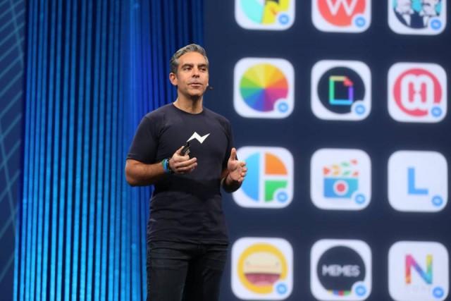 Facebook Messenger at F8 Developer Conference