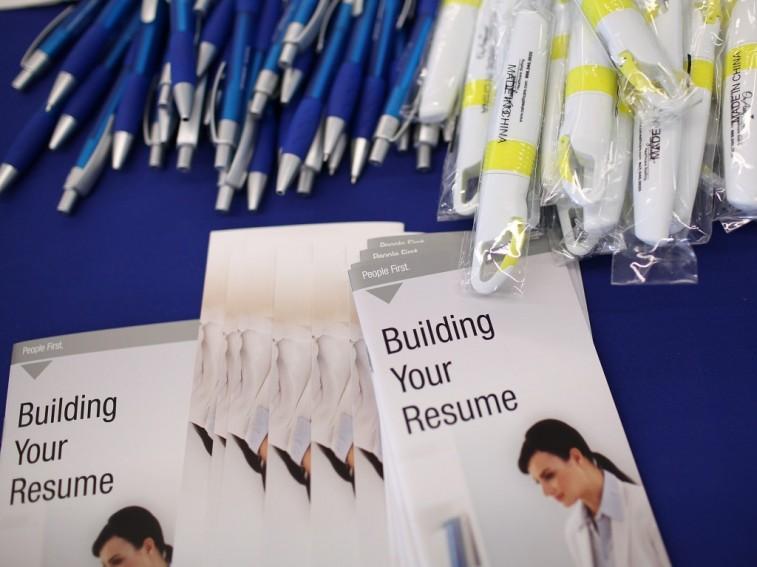 Resume-building materials