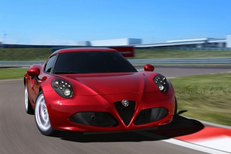 The Alfa Romeo 4C
