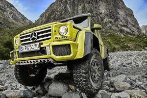 The Mercedes-Benz G500 Is a Jeep Wrangler for the 1%