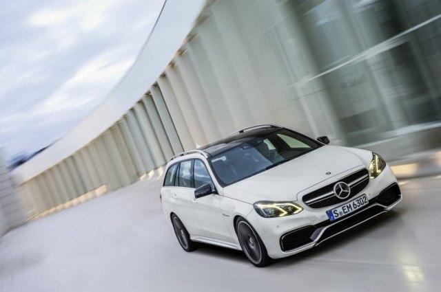 Mercedes-Benz E63 AMG 4Matic Wagon   Source: Mercedes Benz