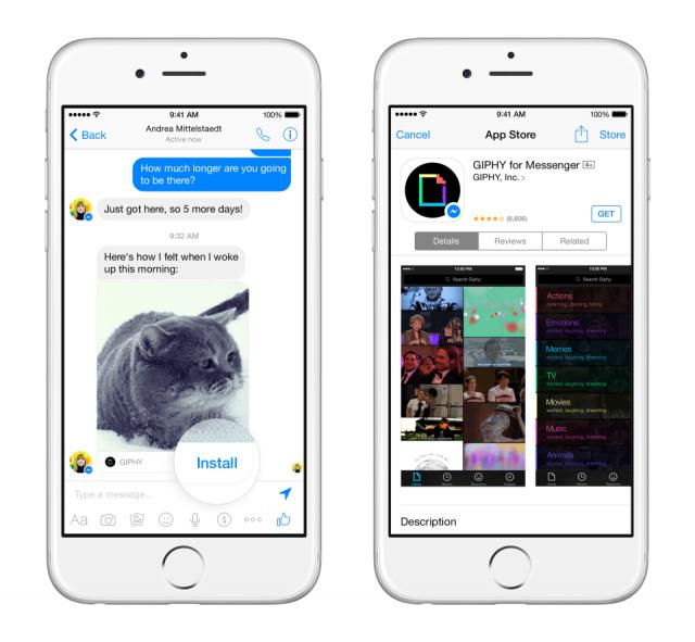 Facebook Messenger Platform app